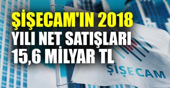 Şişecam'ın 2018 yılı net satışları 15,6 milyar TL
