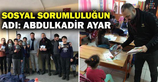 Sosyal Sorumluluğun adı:Abdulkadir Ayar