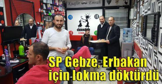 SP Gebze, Erbakan için lokma döktürdü