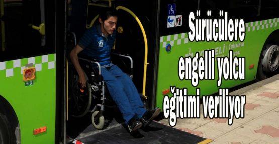 Sürücülere engelli yolcu eğitimi veriliyor