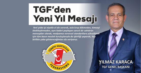 TGF'den yeni yıl mesajı