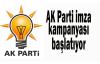 AK Parti imza kampanyası başlatıyor