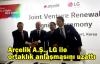Arçelik A.Ş., LG ile ortaklık anlaşmasını uzattı