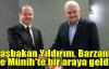 Başbakan Yıldırım, Barzani ile Münih'te bir araya geldi