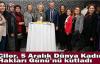 Çiler, 5 Aralık Dünya Kadın Hakları Günü'nü kutladı