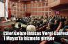 Çiler:Gebze İhtisas Vergi Dairesi 1 Mayıs'ta hizmete giriyor