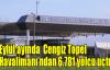 Eylül'de Cengiz Topel Havalimanı'nda 6.781 yolcuya hizmet verildi