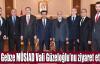 Gebze MÜSİAD Vali Güzeloğlu'nu ziyaret etti