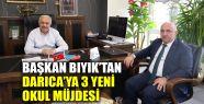Başkan Bıyık'tan Darıca'ya 3 yeni...