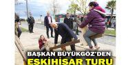 Başkan Büyükgöz'den, Eskihisar turu...