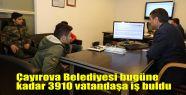 Çayırova Belediyesi bugüne kadar 3910...