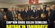 CHP'nin önde gelen isimleri: Bayrak'ın...