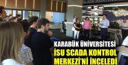 Karabük Üniversitesi, İSU SCADA Kontrol...