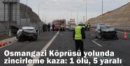 Osmangazi Köprüsü yolunda zincirleme...