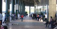 Terminal, bayramda 42 bin ziyaretçiyi ağırladı...