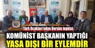 Türk Ocakları'ndan Dersim tepkisi