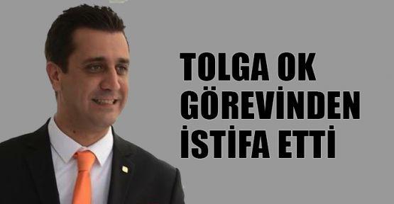 Tolga Ok başkanlıktan istifa etti