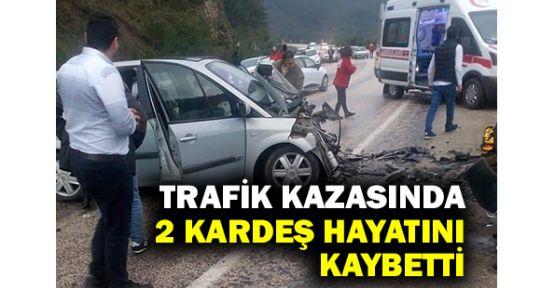 Trafik kazasında 2 ölü, 8 yaralı