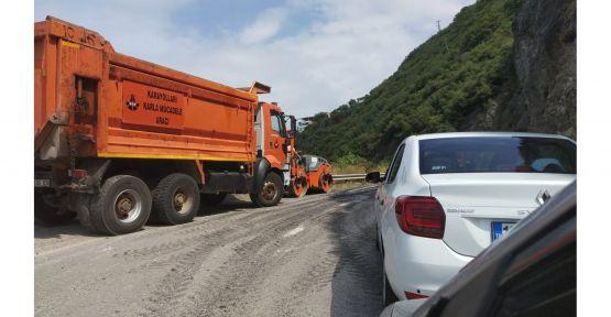 Trafikte yolcuları çileden çıkaran çalışma