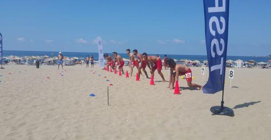 TSSF Bireysel Cankurtarma Şampiyonası yapıldı