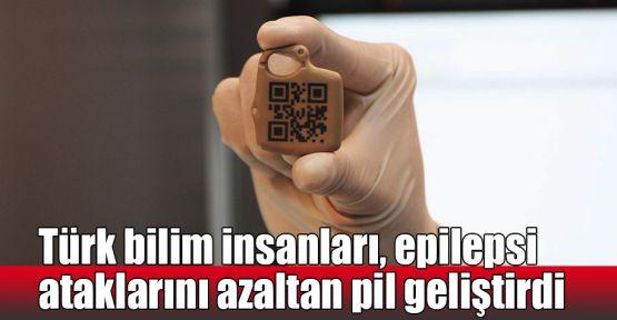 Türk bilim insanları, epilepsi ataklarını azaltan pil geliştirdi