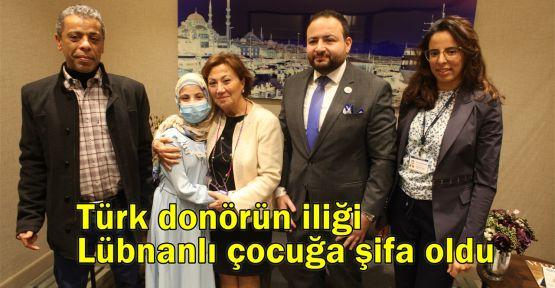 Türk donörün iliği Lübnanlı çocuğa şifa oldu