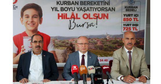 Türk Kızılayı 51 ülkede vekaletle kurban kesecek