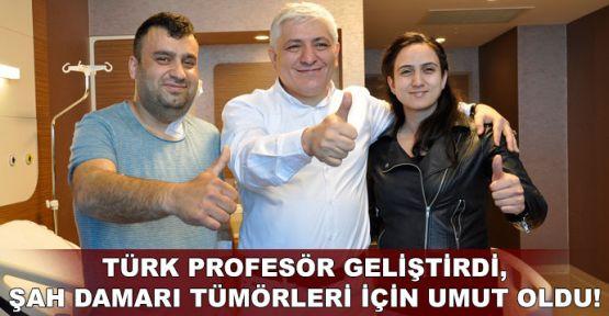 Türk profesör geliştirdi, şah damarı tümörleri için umut oldu!