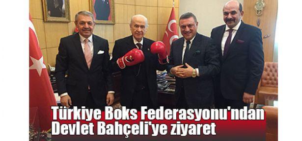 Türkiye Boks Federasyonu'ndan Devlet Bahçeli'ye ziyaret