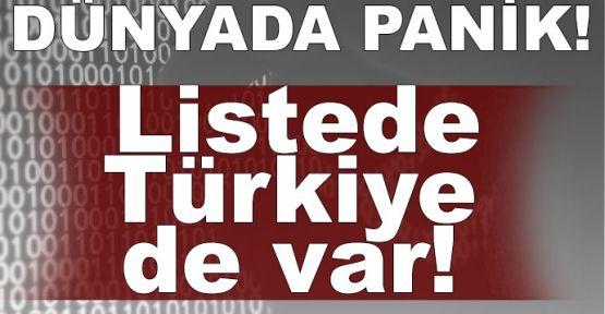 Türkiye dahil 74 ülkeye siber saldırı