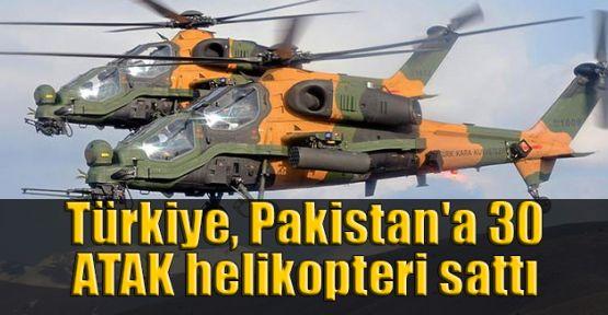 Türkiye, Pakistan'a 30 ATAK helikopteri sattı