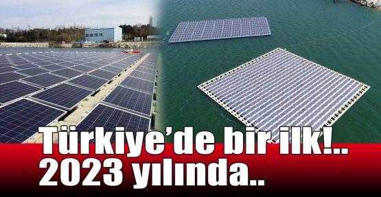 Türkiye'de bir ilk!.. 2023 yılında...