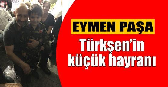 Türkşen'in küçük hayranı EYMEN