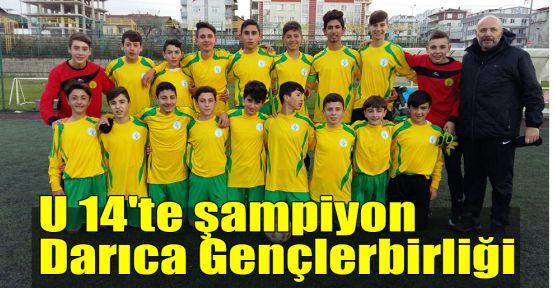 U 14'te şampiyon Darıca Gençlerbirliği