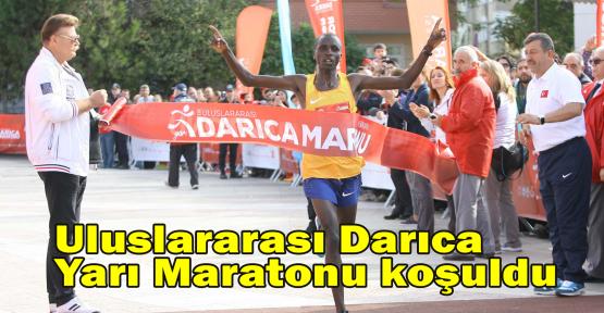 Uluslararası Darıca Yarı Maratonu koşuldu