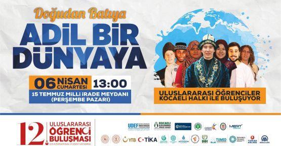 Uluslararası öğrenci buluşması 6 Nisan'da