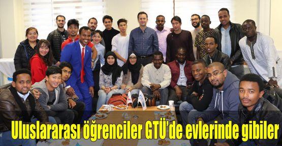 Uluslararası öğrenciler GTÜ'de evlerinde gibiler