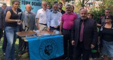Türk Ocakları Kocaeli Şubesi helva dağıttı