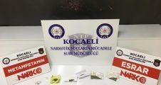Kocaeli'de uyuşturucu operasyonunda 13 şüpheli tutuklandı