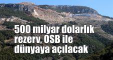 500 milyar dolarlık rezerv, OSB ile dünyaya açılacak