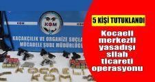 Kocaeli merkezli yasadışı silah ticareti operasyonu