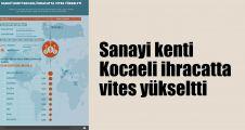 Sanayi kenti Kocaeli ihracatta vites yükseltti