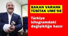 Türkiye kilogramdaki değişikliğe hazır