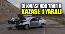 Dilovası'nda trafik kazası: 1 yaralı