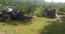 Fındık işçilerini taşıyan traktör devrildi: 1 ölü, 13 yaralı
