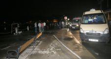 Minibüs denize düştü: 6 yaralı