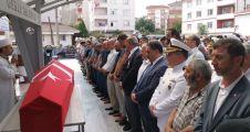Kıbrıs gazisi, Gebze'de son yolculuğuna uğurlandı