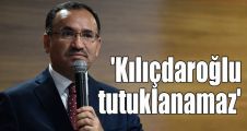 'Kılıçdaroğlu tutuklanamaz'