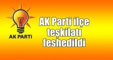 AK Parti İlçe Teşkilatı feshedildi