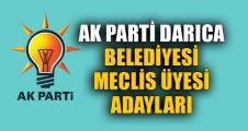 AK Parti Darıca Meclis üyesi listesi